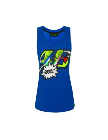 Camiseta Tirantes Chica Valentino Rossi VR46 Forty-Six VRWTT352316