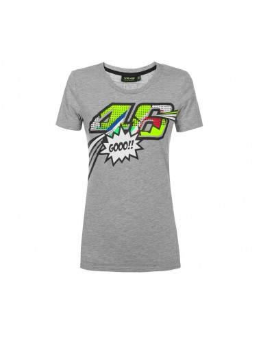 Camiseta Chica Valentino Rossi VR46 Forty-Six VRWTS352205
