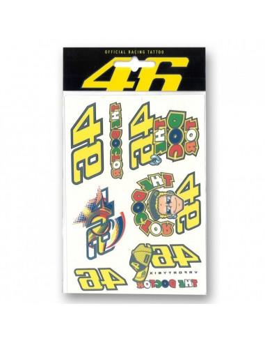 Pack Tatuajes Valentino Rossi VR46 VRUTA212703