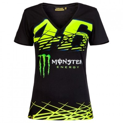 Camiseta Chica Valentino Rossi VR46 Monster Monza Rally MOWTS217304