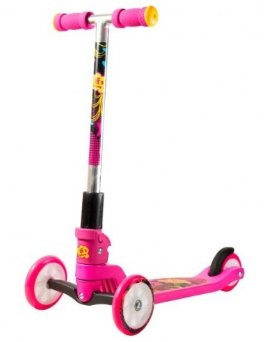Patinete Scooter KRF Tri-Bimbi Rosa