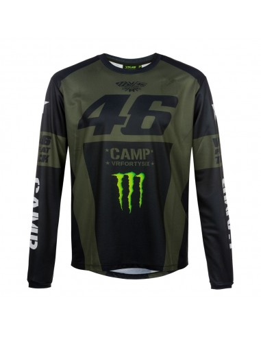 Camiseta Chico Valentino Rossi VR46 Monster Camp CAMTS359908