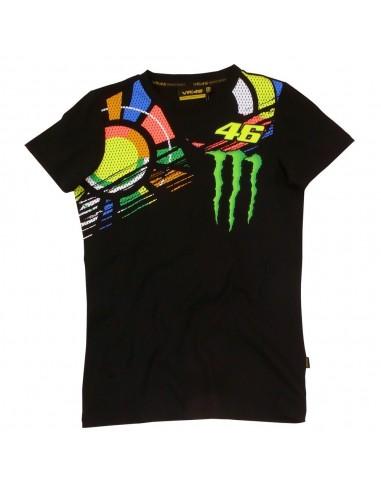 Camiseta Chica Valentino Rossi VR46 Monster MOWTS24704