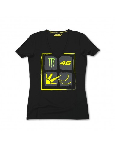 Camiseta Chica Valentino Rossi VR46 Monster MOWTS115804