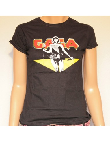 Camiseta Chica Negra Lady Gaga from Bravado