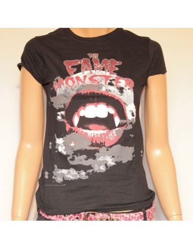 Camiseta Chica Negra Lady Gaga Fame Monster from Bravado