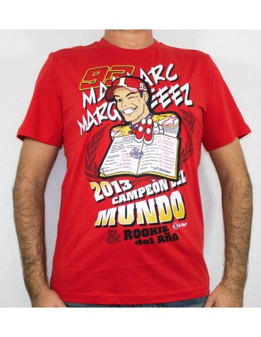 Camiseta Chico Marc Márquez MM93 World Champion MMMTS85307