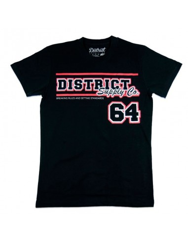 Camiseta District Team Negra