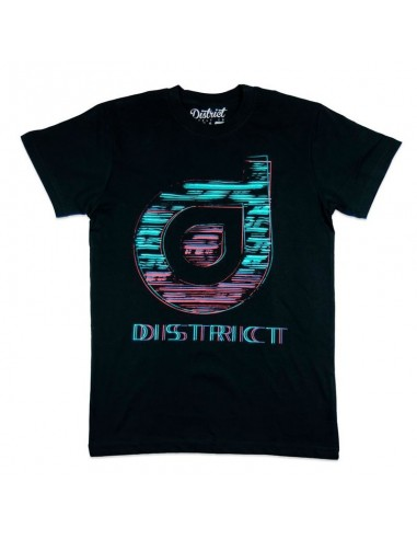 Camiseta District Sketch Negra