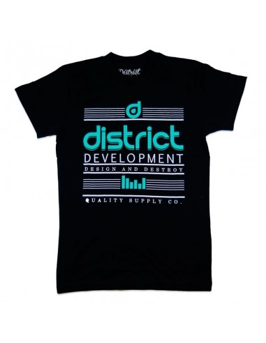 Camiseta District Destroy Negra
