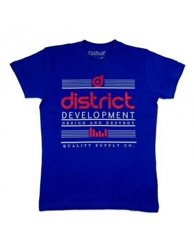 Camiseta District Destroy Azul