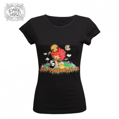 Camiseta Chica Dark World Soul