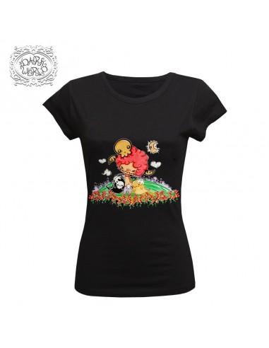 Camiseta Chica Dark World Soul