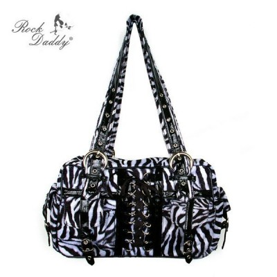Bolso Estampado Cebra Rock...