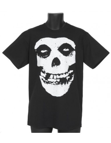 Camiseta Chico Negra Misfits Crimson Distressed Emi Music