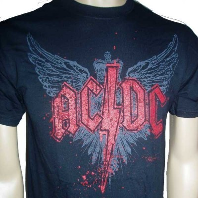 Camiseta Chico ACDC Wings...