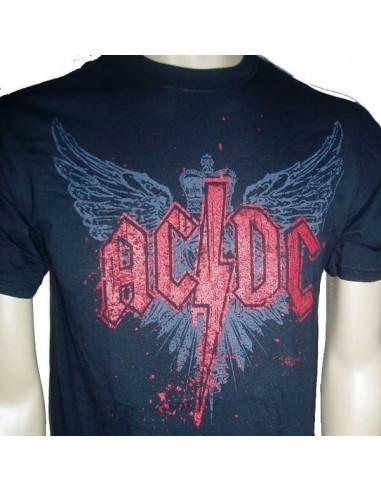 Camiseta Chico ACDC Wings Emi Music