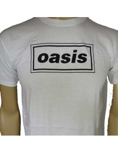Camiseta Chico Oasis (90´S) Logo Emi Music