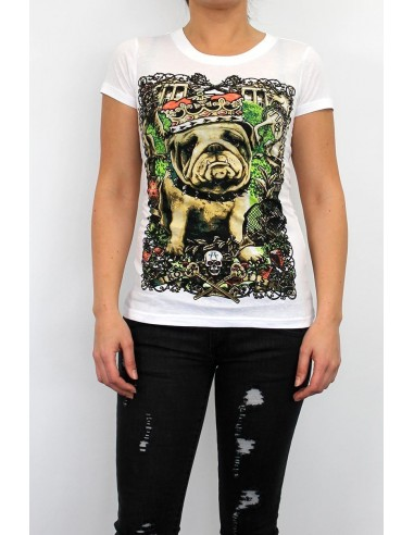Camiseta Chica Iron Fist Dog Days SS