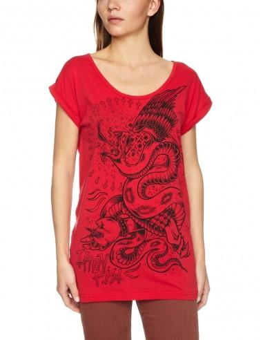 Camiseta Chica Iron Fist Great Snakes Boyfriend