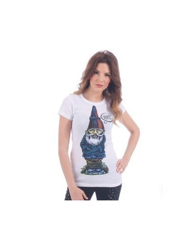 Camiseta Chica Iron Fist Gnomeys For Life SS