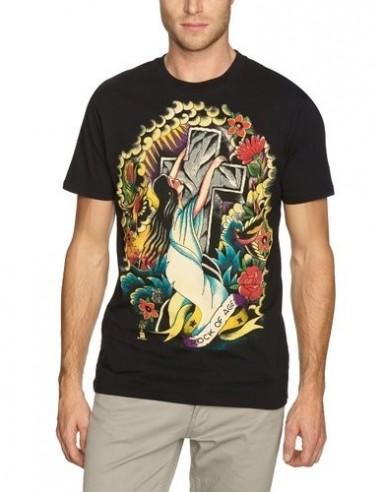 Camiseta Chico Iron Fist Rock Of Ages