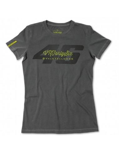 Camiseta Chica Valentino Rossi VR46 Fortysix VRWTS138911