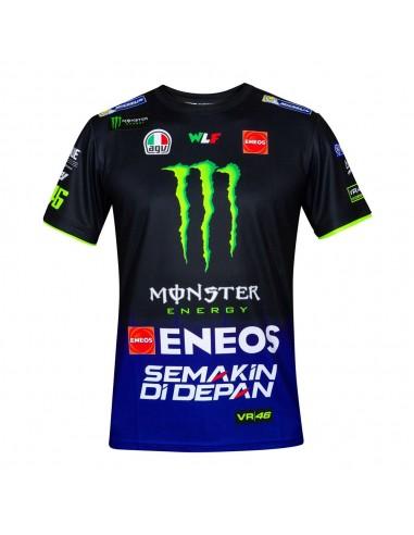 Camiseta Chico Valentino Rossi VR46 Sponsor Yamaha YDMTS361909