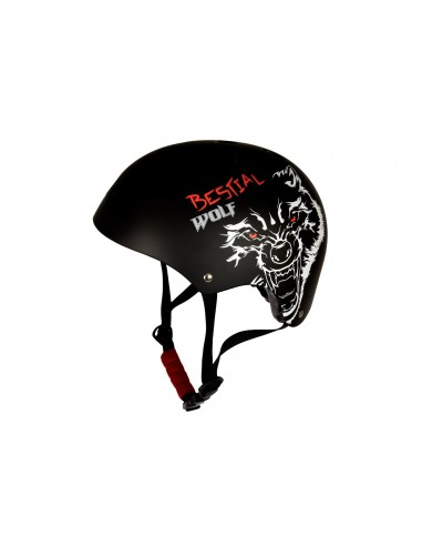 Casco Scooter Bestial Wolf Adulto