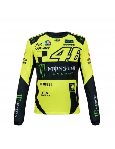 Camiseta Chico Valentino Rossi VR46 Monster Energy MOMTS316028