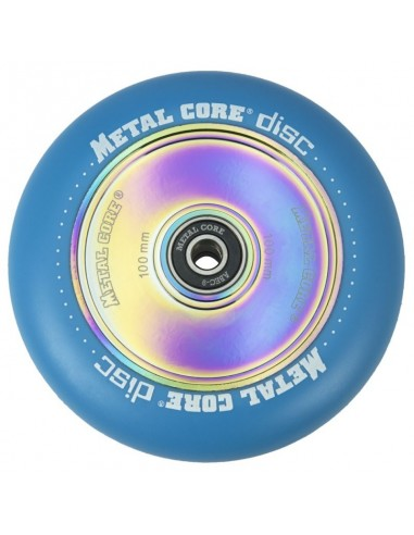Rueda Scooter Radical Metal Core Disc Fluorescente 100mm