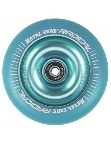 Rueda Scooter Radical Metal Core Fluorescente 110mm