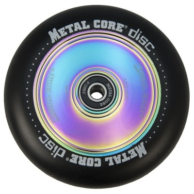 Rueda Scooter Radical Metal Core Disc Fluorescente 110mm