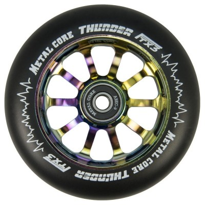 Rueda Scooter Metal Core Thunder Rainbow Fluorescente 110mm